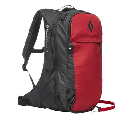Рюкзак Black Diamond Jetforce 25, Red, S/M (BD 681322.RED0-SM)
